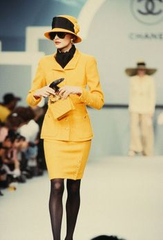 Chanel Fashion show details 80s                                                                                                                                                                                 More
