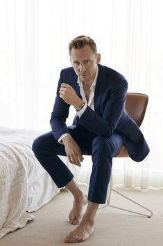 Tom Hiddleston. For W Magazine.