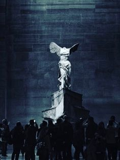 Winged Victory of Samothrace, Louvre Winged Victory Of Samothrace, Architectural Sculpture, Gold Aesthetic, Picture Wall, Gothic, Art Gallery, Museum, Angel, Wallpapers