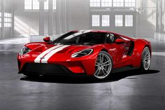 Focus RS a bit too ordinary? The Ford GT is the road-going version of the all-new Le Mans racing car