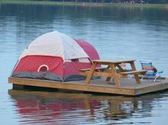 Redneck camping or a very cool campground? Or is this considered as boondocking?