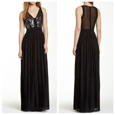 NWT Rebecca Taylor Gown Black Rebecca Taylor Sequin Embellished Pleated Skirt Silk Gown... No photo does this gown justice! It's breathtaking in person and perfect for a special evening out. I can also see this as a very chic prom gown! All eyes will be on you... Guaranteed! As always, my prices are negotiable, so please feel free to make me an offer! Happy poshing! Rebecca Taylor Dresses