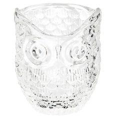 Hibou - Lumignon en verre