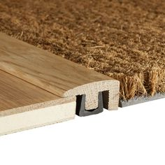 One of my best tips when installing a solid wood floor is to have a sunken coir mat included in your design. This will stop your flooring getting damaged at the entrances to your home and is the ultimate maintenance-saver. Once the coir mat is worn out, it is easy to replace it with a new one. Contour Solid Wood End Profile Woodpecker UK