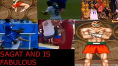 SAGAT AND HIS FABULOUS TIGER KNEE  A little compilation with animation of the TIGER KNEE! #streetfighter #sagat #tigerknee #humor #funny #maiterfun … Street Fighter, Animation, Baseball Cards, Funny, Humor, Ha Ha, Animation Movies, Anime, Hilarious