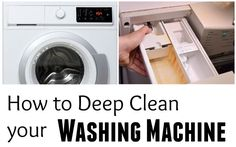 How to Get Rid of Washer Stink – Front Loader Mold - Solutions For Healthy Life Stinky Washing Machine, Washing Machine Cleaner, Deep Cleaning, Cleaning Hacks, Cleaning Products, Clean Washer, Washer Cleaner, Thieves Cleaner