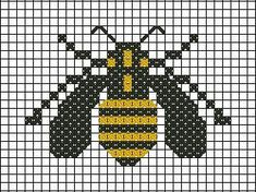 BEE~Bumble Bee cross stitch pattern