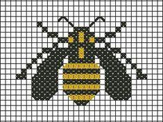 BEE~Bumble Bee cross stitch pattern