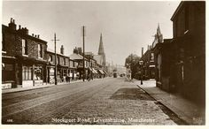 Stockport Road, Levenshulme Manchester Uk, One And Only, Good Day, Monochrome, Spirituality, England, History, Image, Buen Dia
