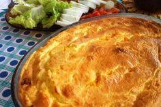 Torta de massa de arroz com 3 recheios