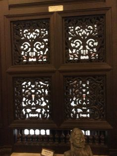 Windows from the Folklore Museum, Cochin