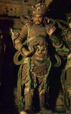 北京大慧寺明代彩塑二十八天神 Buddha Sculpture, Buddha Art, Tibet, Art Carved, Korean Art, China Art, Japan Art, Ancient Artifacts, Gods And Goddesses