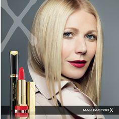 Gwyneth Paltrow per Max Factor Max Factor, Celebrity Skin, Celebrity Style, Office Makeup, Natural Makeup Looks, Gwyneth Paltrow, Celebrity Hairstyles, Sensual, Fashion Advice