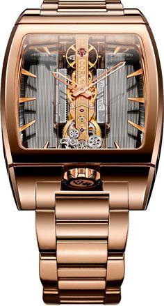 La Cote des Montres : La montre Corum Golden Bridge Automatic - Jeu de transparence pour une icône