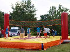Boisko do siatkówki   Danmel Gry i zabawy integracyjne oraz organizacja imprez