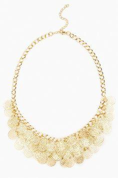 Flora Snow Necklace