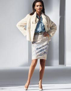 Faux fur jacket | Madeleine Fashion