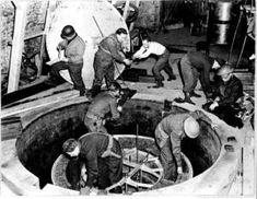 Haigerloch Uranbrenner, Abbau US-Truppen, 1945 © Library of Congress / Washington    Τι θα είχε, άραγε, συμβεί, αν η ναζιστική Γερμανία ...