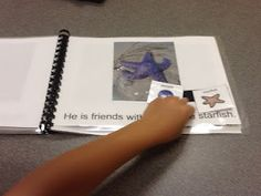 Fish and Friends---printable adapted book free
