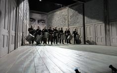 Tom Piper (UK) is exhibiting his Set Design for Richard III (Bridge Project, Old Vic, London and Brooklyn Academy of Music)