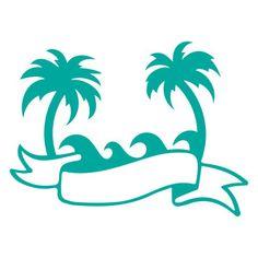 Silhouette Design Store: ocean banner