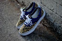 Vans Era Blue/Leopard | MATÉRIA:estilo