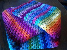 Ravelry: YarniGirl's Happy Blanket