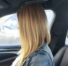 My natural blonde hair  #longbob #verylongbob #ash #coolblonde #lob #haircut #blonde #naturalblonde #blonde #highlights #naturalcolor