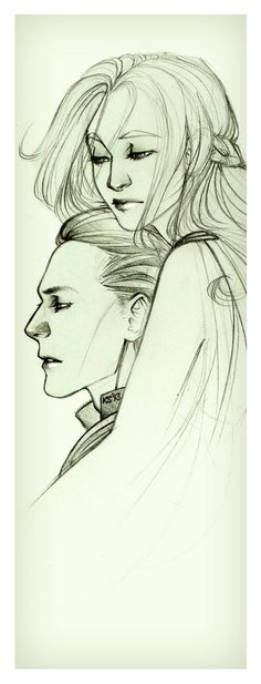 """Loki & Sigyn fan art (although I dream of the day when we see """"official movie stills"""" of this couple rather than simply """"fan art"""")."""