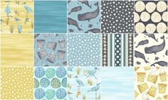 Barnacle Bay Fat Quarter Bundle - Debi Hubbs - Studio E — Missouri Star Quilt Co.
