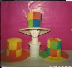 Resultado de imagen de patrones sombreros goma espuma