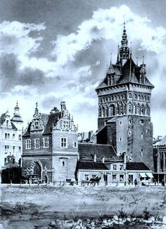 Danzig, Old Pictures, Old Photos, Germany And Prussia, Old Photographs, Color Boards, Krakow, Historical Photos, Barcelona Cathedral