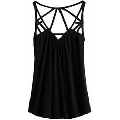 Kinda perfectly sexy for a summer date-night top! Love the strappy details.