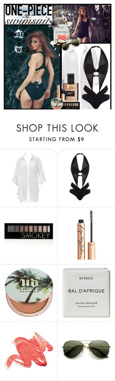 """""""Danger Grows Wild"""" by julyralewis ❤ liked on Polyvore featuring Beauty & The Beach, Wildfox, Agent Provocateur, James Bond 007, Forever 21, Charlotte Tilbury, Urban Decay, Byredo, Soleil Toujours and onepieceswimsuit"""