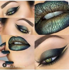 14 beautiful lips and eyes makeup ideas to try - the glossychic - 6 . - 14 beautiful lips and eyes makeup ideas to try – The Glossychic – 6 beautiful lips and eyes mak - Medusa Costume Makeup, Medusa Halloween Costume, Halloween Make Up, Halloween Face Makeup, Sea Witch Costume, Halloween Ideas, Makeup Inspo, Makeup Art, Lip Makeup