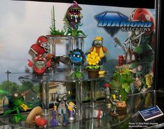 """A Wonderful Selection of """"Plants Vs. Zombies"""" Characters is Coming From #DST in September 2014."""