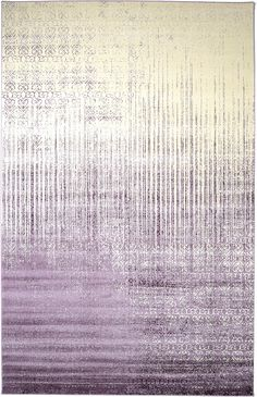Purple 10' 6 x 16' 5 Modern Tri-Color Rug   Area Rugs   eSaleRugs