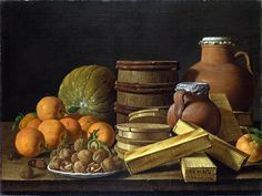still-life-with-oranges-and-walnuts-by-luis-melendez.jpg (797×600)