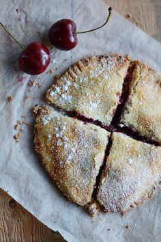 This is a recipe for Moldovan cherry pie and a story about my stay in Moldova. Placinte su visine is a delicious cherry pie common in Moldova and Romania. Fall Recipes, Real Food Recipes, Dessert Recipes, Yummy Food, Cherry Desserts, Cherry Recipes, Romanian Desserts, Eastern European Recipes, Sweet Bakery