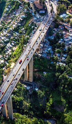 Vista aérea puente del Incienso Guatemala  (Fotografía Sandra Esteban)