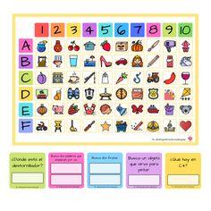 Teacher Binder, Periodic Table, Homeschool, Therapy, Diagram, Classroom, Children, Speech Pathology, Cognitive Activities