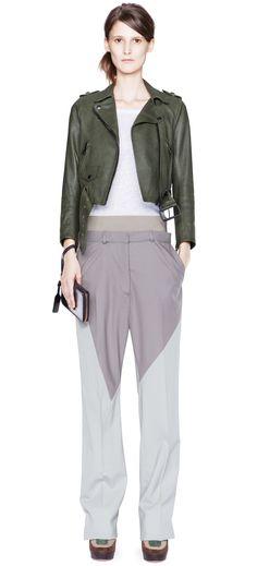 bicolored pants..ideas