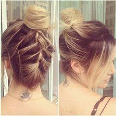 Cabelos: penteados com tranças para casamentos, formaturas e festas