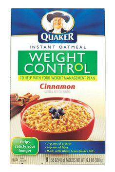 """Best Oatmeal"" only 1 gram of sugar! #eatthisnotthat"