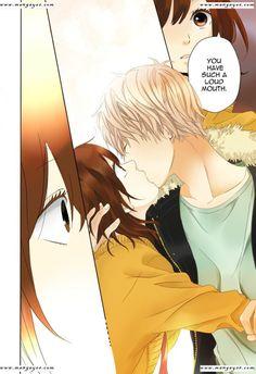 Ookami Shoujo to kuro ouji (V: Awh, they're such a cute couple... ! *-* )
