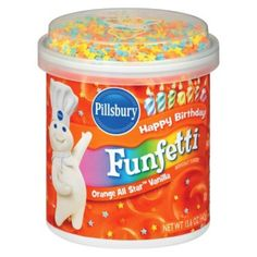 Pillsbury Funfetti Orange All Star Flavored Frosting, Vanilla, Ounce Cupcake Cones, Cupcake Icing, Orange Frosting, Vanilla Frosting, Cheez Doodles, Chicken Little Disney, Best Nutella Recipes, Smarties Chocolate, Disney Coffee Mugs