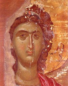 ЛИК АРХАНГЕЛА Византия, ок. 1400 г.