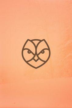 Dribbble - ForestLife_Owl_Wallpaper.png by Milosz Klimek