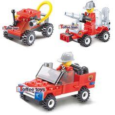 Api yang mainan mobil mobil blok bangunan mainan kecil bintang jenis ruban pencerahan pendidikan dirakit mainan plastik tahan