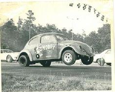 Snoopy VW Beetle